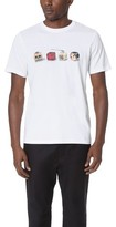 Paul Smith Regular Fit Tee with Dice Print