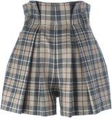 Vivienne Westwood high waist tartan shorts