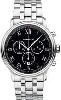 Montblanc 117048 Tradition stainless steel chronograph watch