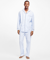 Brooks Brothers Hairline Split Stripe Pajamas