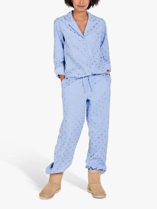 Hush Astrid Foil Star Pyjama Set