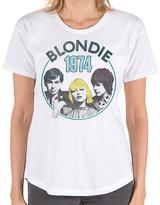 Goodie Two Sleeves White Blondie 1974 Tee - Women