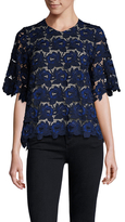 Hunter Bell Fawn Embroidered Lace Top
