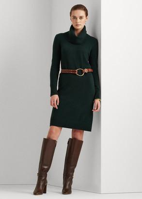 Ralph Lauren Washable Cashmere Sweater Dress