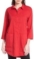Eileen Fisher Women's Organic Linen Blend Tunic