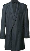 Haider Ackermann double-breasted coat - men - Silk/Cotton/Acetate/Viscose - 50
