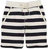 Scotch Shrunk Striped Cotton Sweatshorts