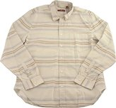 7 For All Mankind Men's Long Sleeve Striped Shirt