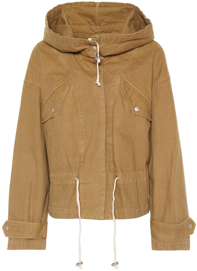 Etoile Isabel Marant Isabel Marant, étoile Lagilly cotton jacket