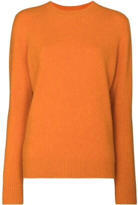 The Elder Statesman Simple crew neck jumper