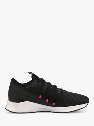 Puma NRGY Star New Core Women's Running Shoes, Black/Luminous Pink