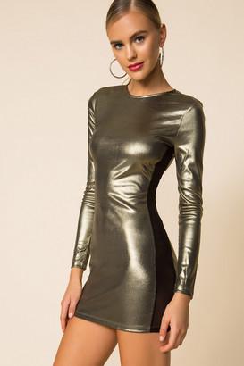 superdown Marianna Mesh Mini Dress