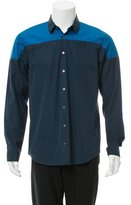 Jil Sander Two Tone Button-Up Shirt