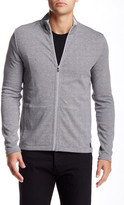 HUGO BOSS Fossa Stripe Zip Sweater