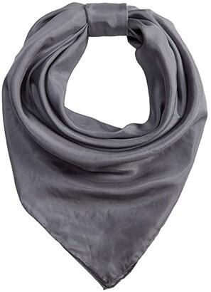 RAGS M&F Western 35x35 Wild Silk Scarf Bandana (Black) Scarves