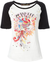 Roberto Cavalli embroidered experience '97 T-shirt