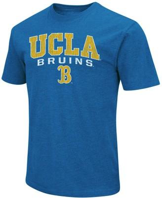 Colosseum Men's Heathered Light Blue UCLA Bruins Distressed Arch Over Logo T-Shirt