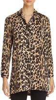 Kenneth Cole Leopard Print Tunic