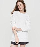 Lou & Grey Crochet Sweatshirt