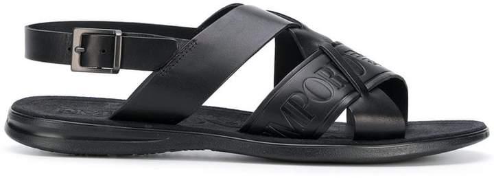 Emporio Armani strappy sandals