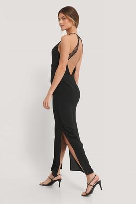 NA-KD Lace Back Dress