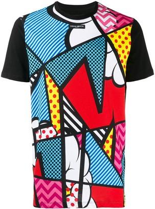 Frankie Morello pop art print T-shirt