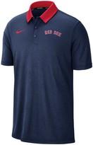 Nike Men's Navy Boston Red Sox MLB Breathe Performance Polo