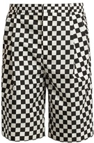 Givenchy Checked Shell Shorts