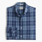 J.Crew Slim Secret Wash shirt in ocean plaid poplin