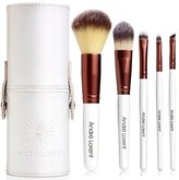 Top Choice #1 PRO Makeup Brush Set With Gorgeous Designer Case - Includes 5 Professional Makeup Brushes.. Best Quality Brushes for Eye Makeup and Face of Pro Makeup Artists