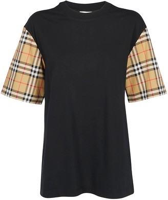 Burberry Vintage Check Sleeve T-Shirt