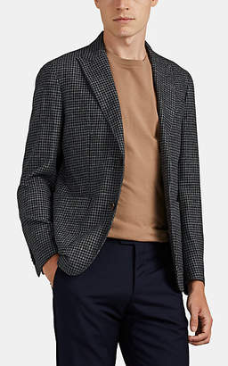 Eleventy Men's Checked Wool-Blend Two-Button Sportcoat - Gray Pat.
