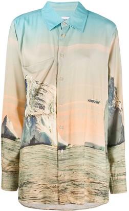 Ambush Iceberg print shirt