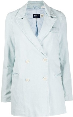 Levi's Made & Crafted Double Breasted Organic Cotton Blazer
