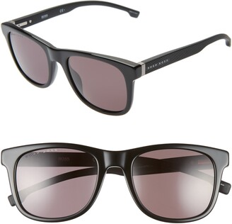 BOSS 53mm Square Sunglasses