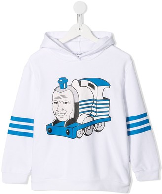 Ground Zero Train print hoodie