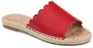 Journee Collection Marjan Espadrille Slide Sandal