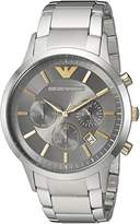 Emporio Armani Men's Quartz Stainless Steel Casual Watch, Color:-Toned (Model: AR11047)