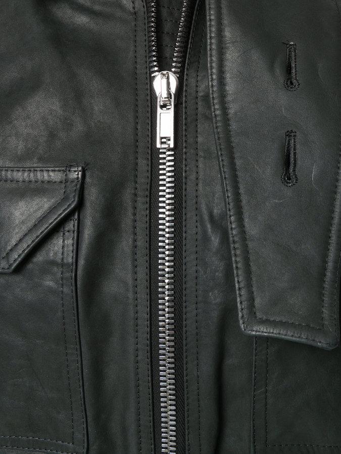 Rick Owens cropped jacket