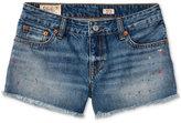 Ralph Lauren Paint-Splattered Cotton Twill Shorts, Big Girls (7-16)