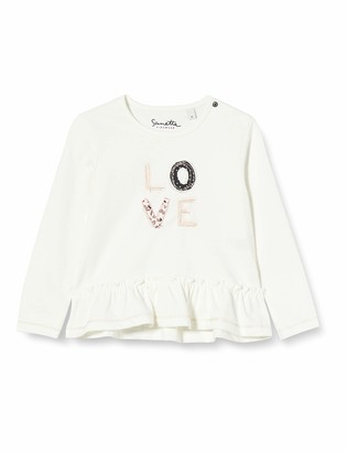 Sanetta Girl's Ivory Baby and Toddler T-Shirt Set