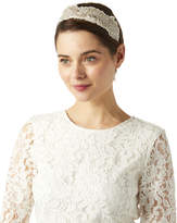 Monsoon Lily Metallic Embroidered Headpiece