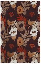 Linon Hi Lo Floral I Rug