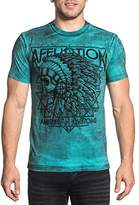 Affliction Men's American Customs Short Sleeve Graphic T-Shirt
