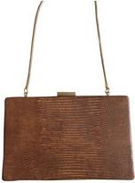 BCBGMAXAZRIA Brown Exotic leathers Clutch bag