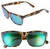 Smith Optics Women's 'Tioga' 57Mm Polarized Sunglasses - Green Tortoise/ Green Sol