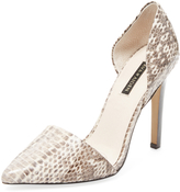 Ava & Aiden Women's Signature Pointed-Toe D'Orsay Pump