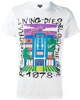 Diesel building print T-shirt