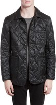 Burberry Men's Rushton Trim Fit Quilted Jacket