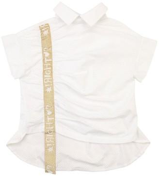 Raspberry Plum Cotton Poplin Shirt